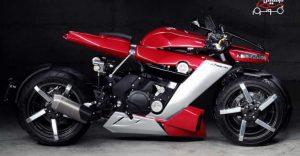 لازارت LM 410، موتورسیکلتی چهارچرخ با پیشرانهٔ یاماها